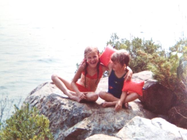 Kath and me.