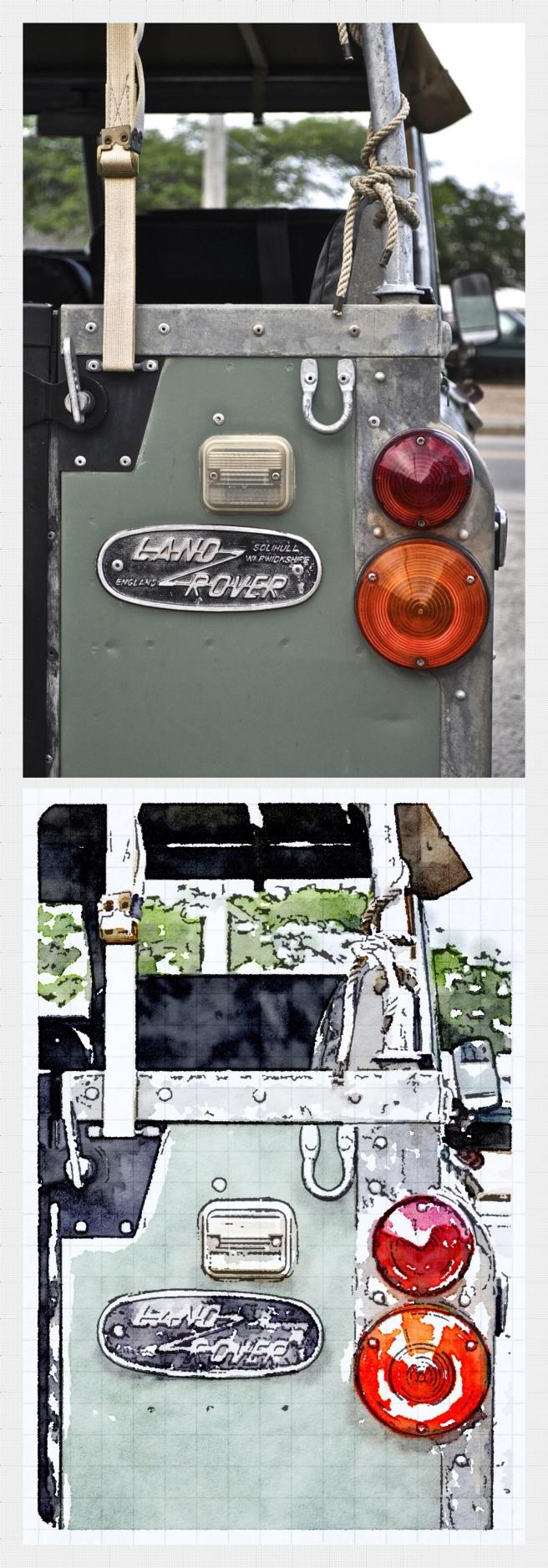 Vintage Land Rover, Vineyard Haven