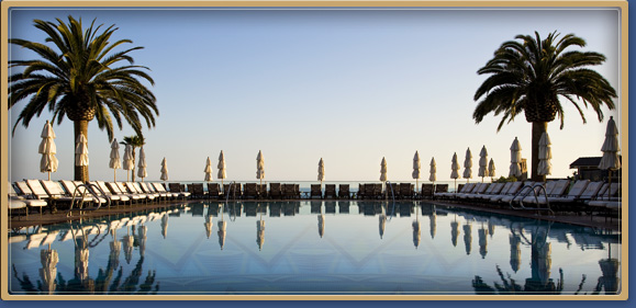 The Mosaic Pool at the Montage