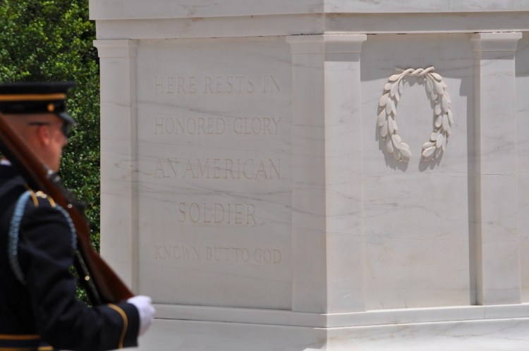The Tomb of the Unknown Soldier.
